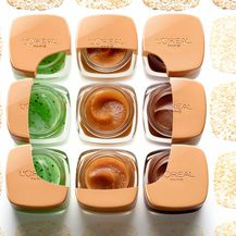 L'Oréal Paris sugar scrubs