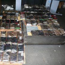 Zaplijenjeno je 100 kilograma kokaina (Foto: MUP)