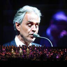 Andrea Bocelli nastupio u prepunoj Areni Zagreb (Foto: Borna Filic/PIXSELL)