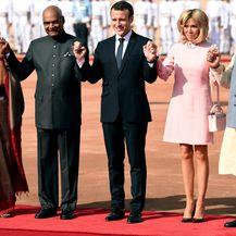 Brigitte Macron u Indiji