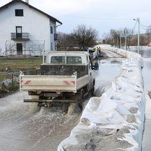 Vodostaj na području Karlovca (Foto: Pixell)