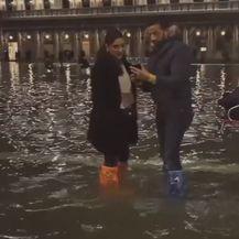 Poplava u Veneciji (Screenshot: AP)