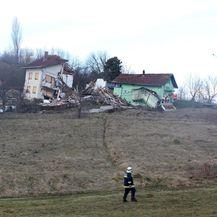 Odron u Hrvatskoj Kostajnici (Foto: Edina Zuko/PIXSELL)