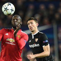 Romelu Lukaku protiv Seville (Foto: AFP)
