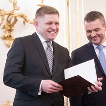 Robert Fico i Peter Pellegrini (Foto: AFP)