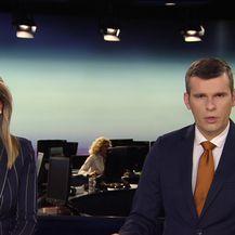 Domagoj Mikić uživo o poplavi u Petrinji (Video: Dnevnik Nove TV)