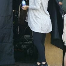 Eva Longoria na setu serije Grand Hotel