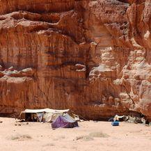Ovako izgleda beduinski smještaj u pustinji