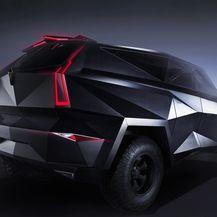 SUV od 3,8 milijuna dolara po uzoru na Stealth Fighter mlažnjak (Foto: Profimedia)