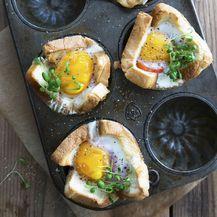 Tortice od jaja iz pećnice