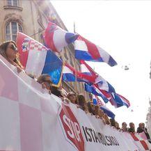 Održan prosvjed protiv Istanbulske konvencije (Video: Dnevnik Nove TV)