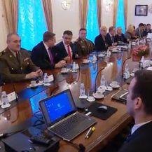 Sjednica Vijeća za obranu (Foto: Dnevnik.hr)