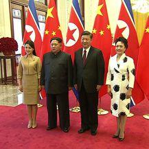 Kim Jong Un posjetio Kinu (Foto: AFP)