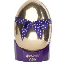 Lush, Golden egg, dar sastavljen od bombica za kupanje i pjenušave kupke, 359kn