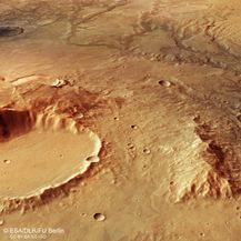 Riječna dolina na Marsu