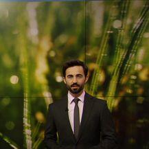 Prognozu nam donosi Darijo Brzoja (Video: Dnevnik Nove TV)