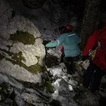 Akcija spašavanja na Velebitu (Foto: HGSS)