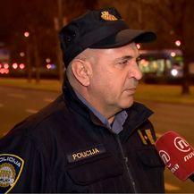 Josip Mataija iz Službe za cestovnu sigurnost, MUP (Foto: Dnevnik.hr)