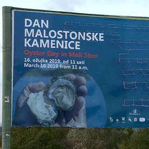 Plakat za Dan malostonskih kamenica (Foto: Dnevnik.hr)