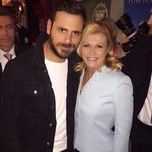 Stjepan Hauser, Kolinda Grabar Kitarović (Foto: Instagram)