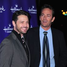 Jason Priestly i Luke Perry (Foto: Getty Images)