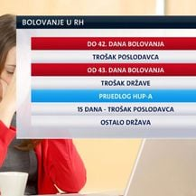 Bolovanje u Hrvatskoj (Foto: Dnevnik.hr)