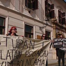 Prosvjed povodom Međunarodnog dana žena (Video: Vijesti u 17h)