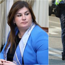 Ministrica Gabrijela Žalac i policija, arhiva (Foto: Pixsell)