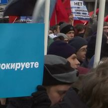 Prosvjedi u Moskvi (Video: Reuters)