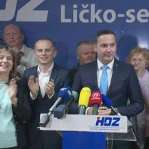 Konferencija za novinare HDZ-a nakon objave rezultata izbora u Lici (Foto: Dnevnik.hr) - 1