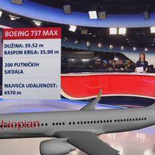 Model aviona koji se srušio u Etiopiji (Foto: Dnevnik.hr)
