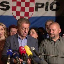 Konferencija za novinare Darka Milinovića nakon objave rezultata izbora u Lici (Video: Dnevnik.hr)
