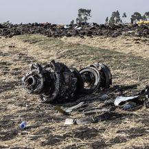 Mjesto pada aviona marke Boeing u Etiopiji (Foto: AFP)