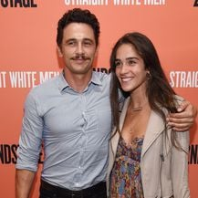 James Franco i Isabel Pakzad (Foto: AFP)