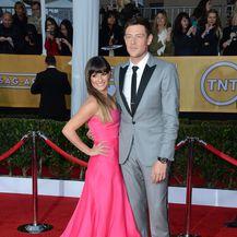 Lea Michele i Cory Monteith (Foto: AFP)
