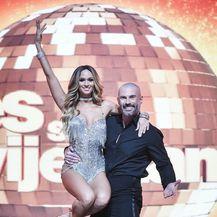Davor Garić i Valentina Walme (Foto: Sandra Simunovic/PIXSELL)