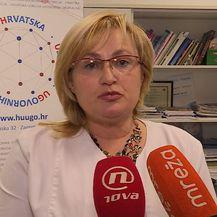 Predsjednica sekcije ginekologa HUUGO-a Marija Divić (Foto: Dnevnik.hr)