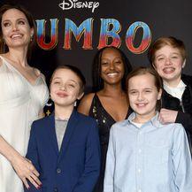 Angelina Jolie s djecom na premijeri filma \'Dumbo\' - 4
