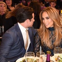 Jennifer Lopez i Casper Smart (Foto: AFP)
