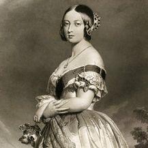 Portret britanske kraljice Viktorije