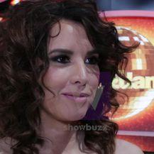 Nives Celzijus uoči prve emisije Plesa sa zvijezdama (VIDEO: Anamaria Batur/Dnevnik.hr)