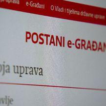 Web stranica e-građanin (Foto: Dnevnik.hr)