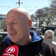 Navijači Dinama u Lisabonu