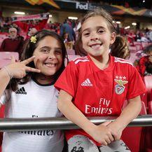 Djevojčice u dresovima Benfice (Foto: Goran Stanzl/PIXSELL)