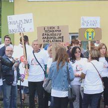 Učitelji i logopedi prosvjeduju zbog niskih plaća (Foto: Dnevnik.hr) - 1