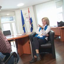 Kristian Došen i Nataša Novaković, predsjednica Povjerenstva za odlučivanje o sukobu interesa (Foto: Dnevnik.hr)
