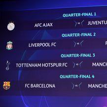 Ždrijeb četvrtfinala Lige prvaka (Foto: AFP)