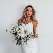 Model Hart brenda Grace Loves Lace savršena je vjenčanicu po izboru muškaraca