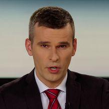 Prosvjednik o upada u prostorije Radio-televizije Srbije (Video: Izvanredne vijesti Nove TV)