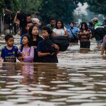Poplave u Indoneziji (Foto: AFP)